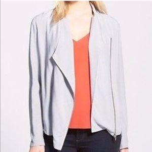 Trouve Grey Draped Jacket